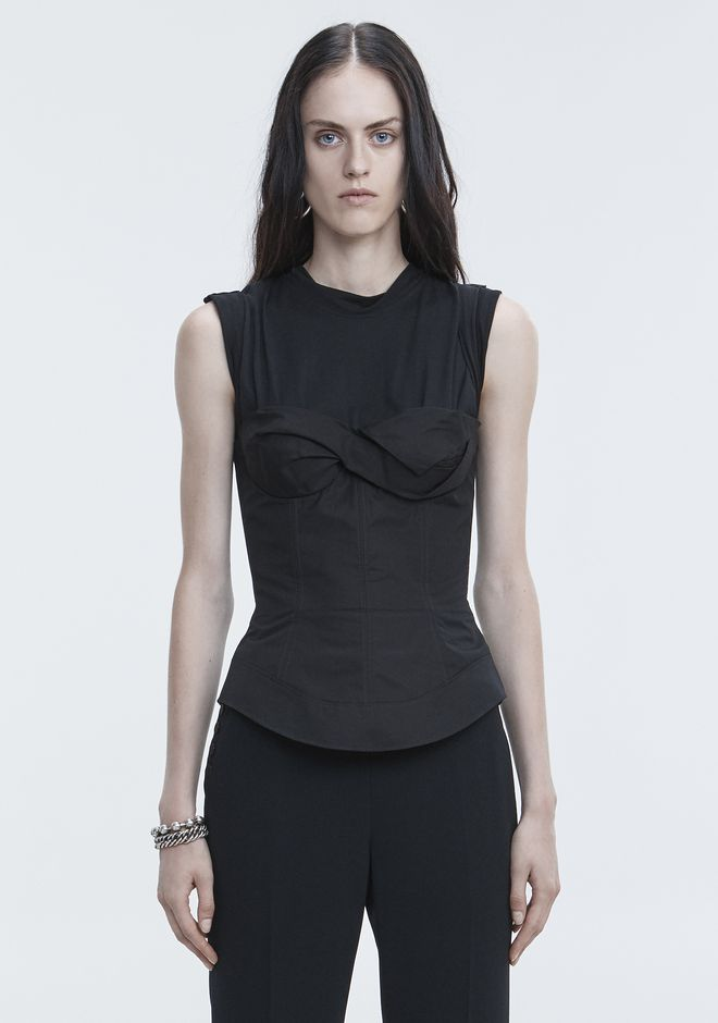 ALEXANDER WANG TROMPE L'OEIL SHIRT  TOP Adult 12_n_e