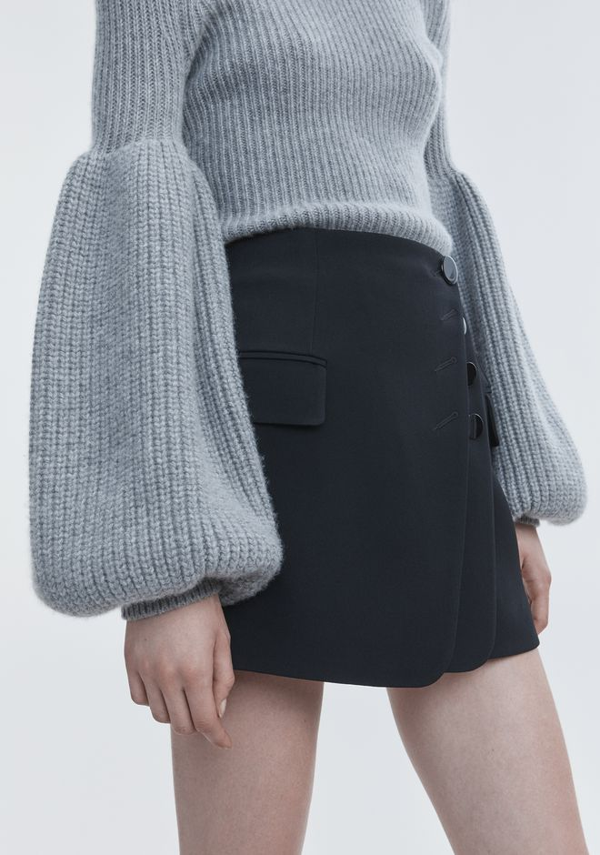 ALEXANDER WANG WOOL CASHMERE PULLOVER TOP Adult 12_n_d