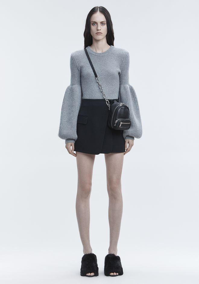 ALEXANDER WANG WOOL CASHMERE PULLOVER TOP Adult 12_n_f