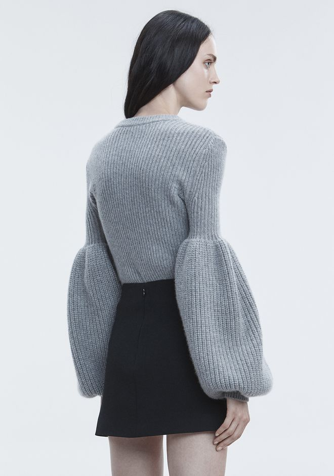 ALEXANDER WANG WOOL CASHMERE PULLOVER TOP Adult 12_n_r