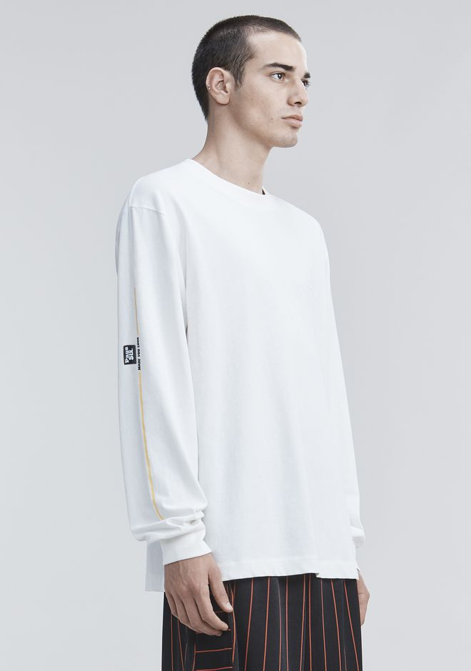 ALEXANDER WANG PAGE SIX LONG SLEEVE  탑 Adult 12_n_a