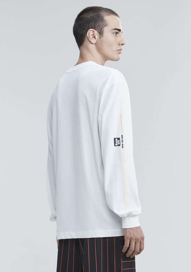 ALEXANDER WANG PAGE SIX LONG SLEEVE  탑 Adult 12_n_d