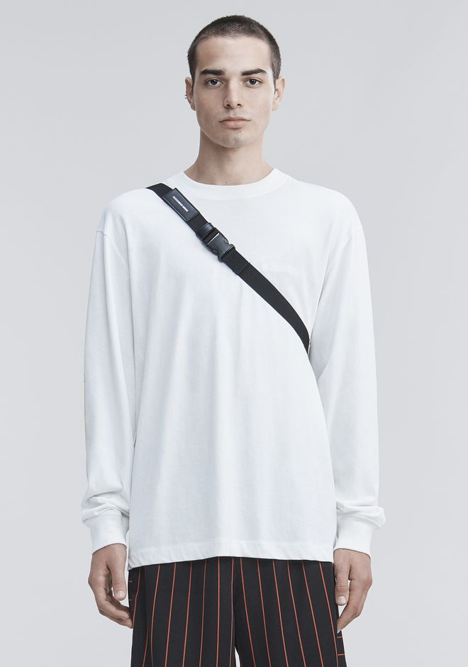 ALEXANDER WANG PAGE SIX LONG SLEEVE  TOP Adult 12_n_e