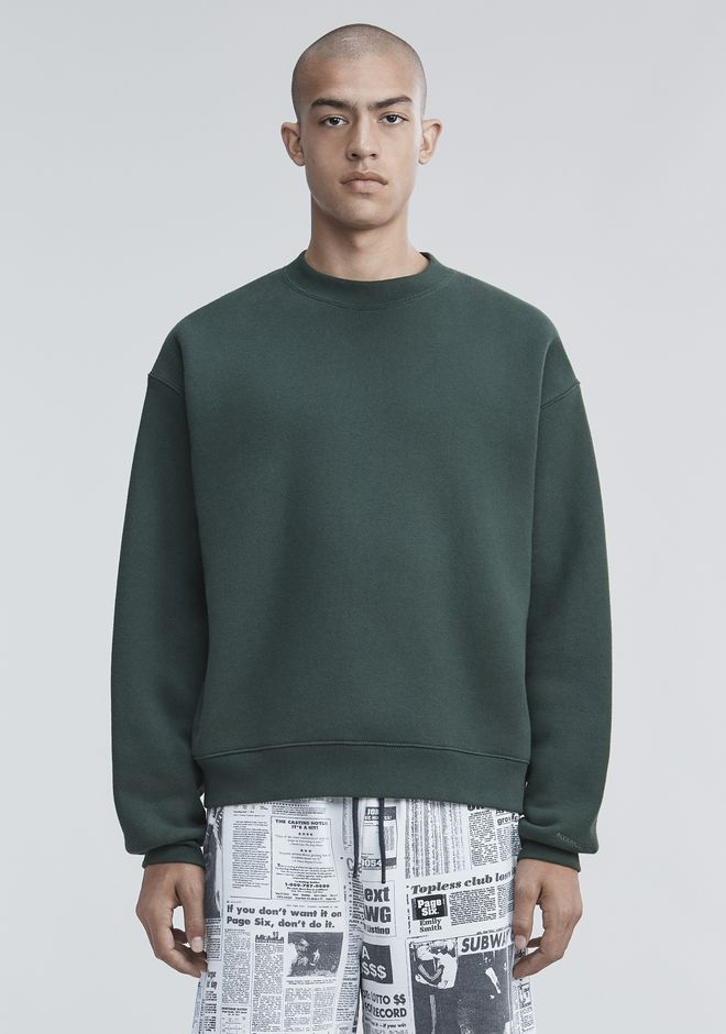 ALEXANDER WANG mens-new-apparel FLEECE PULLOVER