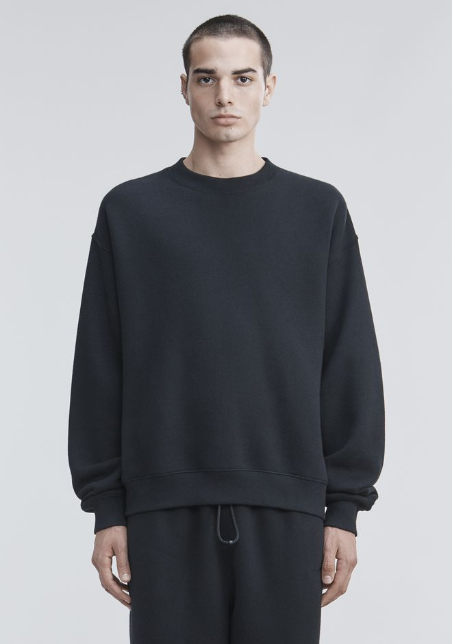 ALEXANDER WANG TOPS Men FLEECE PULLOVER