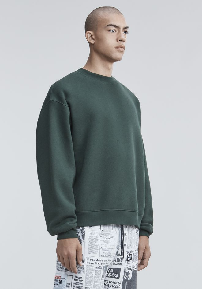 ALEXANDER WANG FLEECE PULLOVER TOP Adult 12_n_a