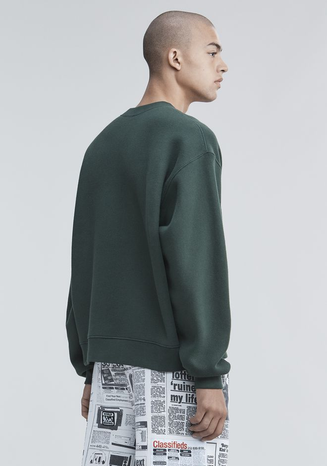 ALEXANDER WANG FLEECE PULLOVER TOP Adult 12_n_d