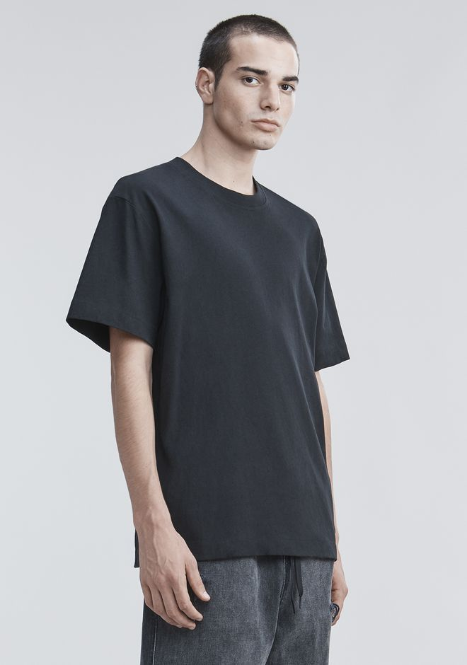 ALEXANDER WANG HIGH TWIST T-SHIRT TOP Adult 12_n_a