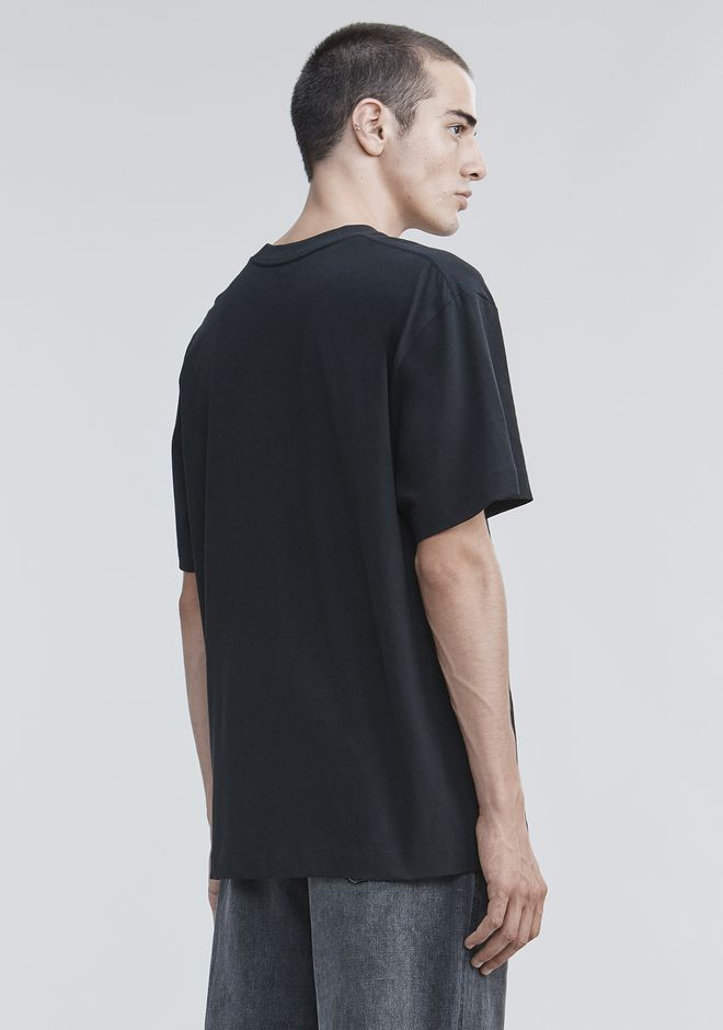 ALEXANDER WANG HIGH TWIST T-SHIRT TOP Adult 12_n_d