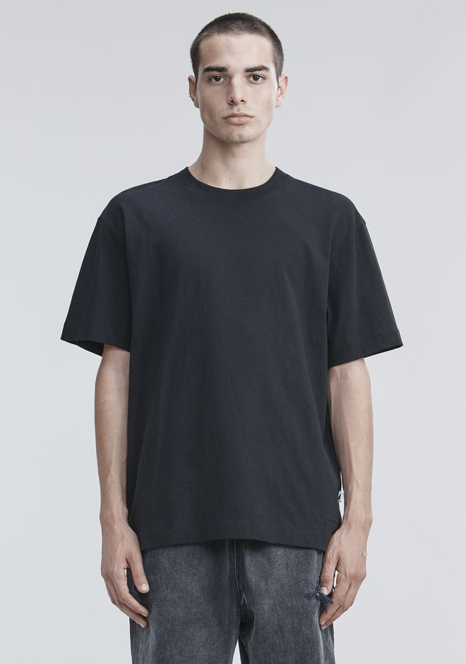 ALEXANDER WANG HIGH TWIST T-SHIRT TOP Adult 12_n_e