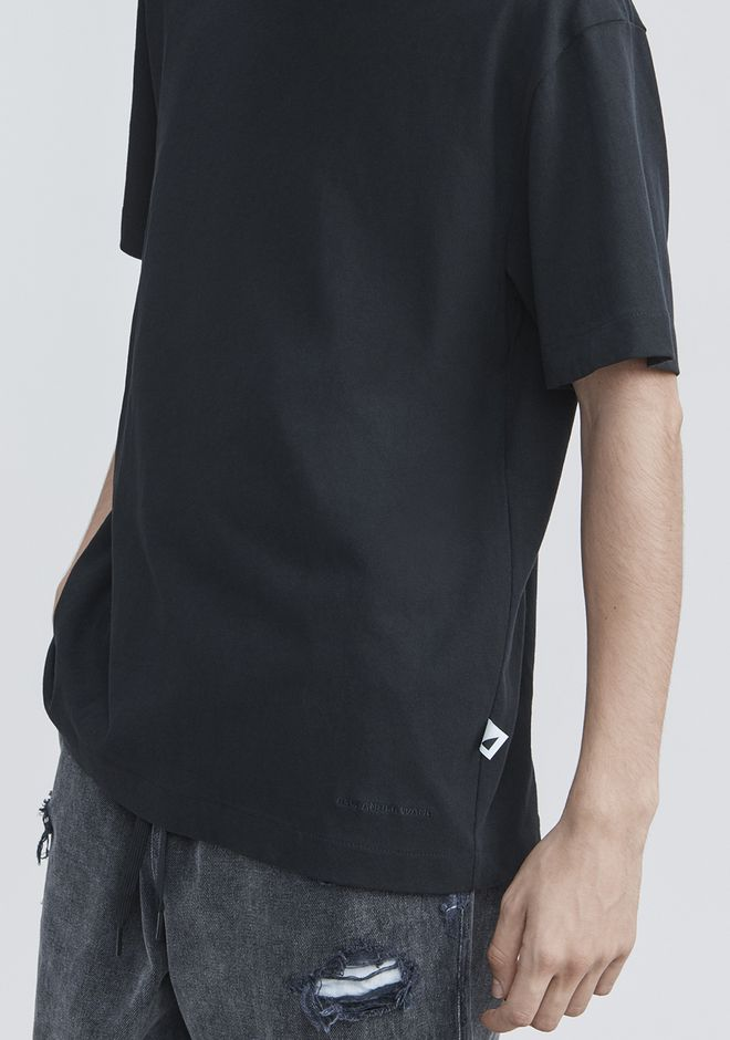 ALEXANDER WANG HIGH TWIST T-SHIRT TOP Adult 12_n_r
