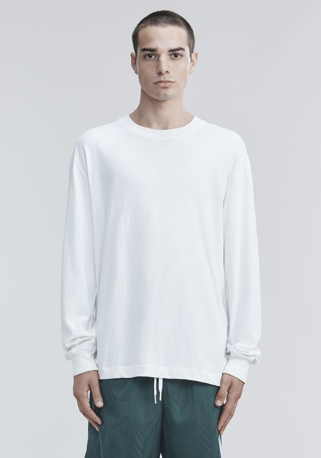 ALEXANDER WANG HIGH TWIST LONG SLEEVE TOP Adult 12_n_a