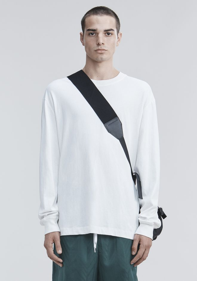 ALEXANDER WANG HIGH TWIST LONG SLEEVE TOP Adult 12_n_e