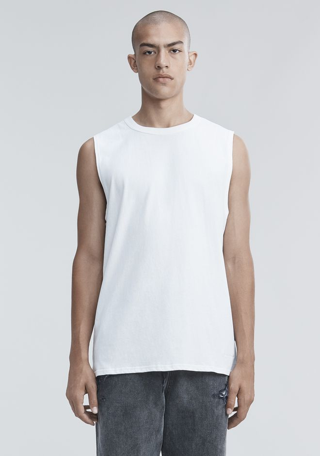 ALEXANDER WANG HIGH TWIST MUSCLE TANK TOP Adult 12_n_r