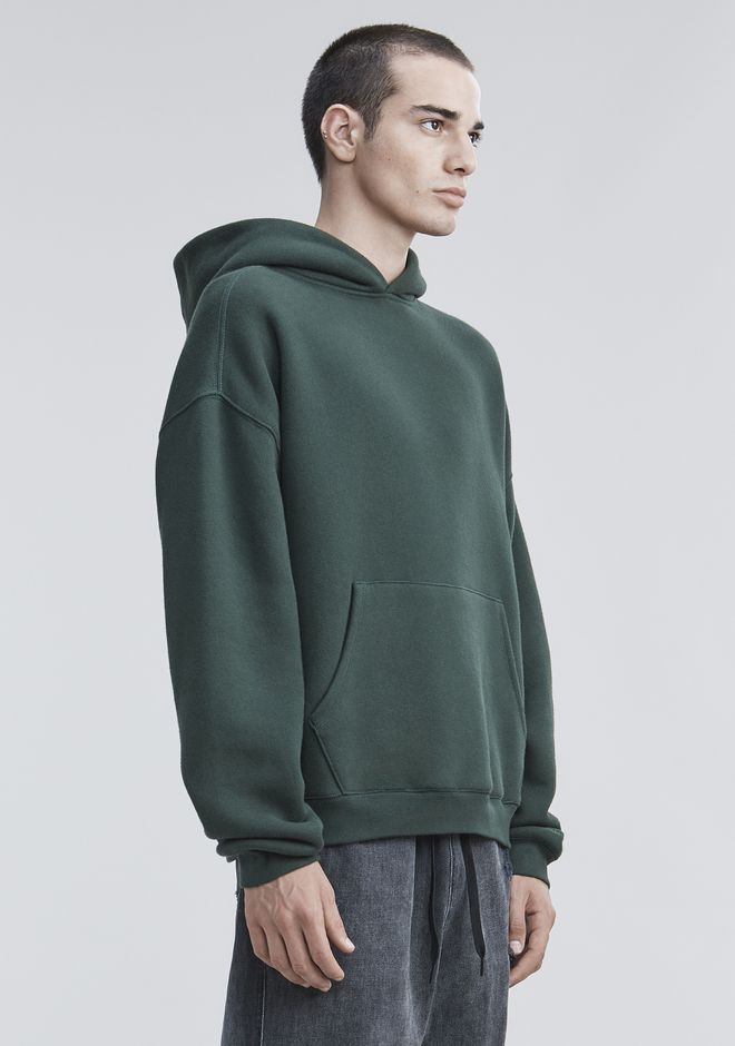 ALEXANDER WANG FLEECE HOODIE TOP Adult 12_n_a