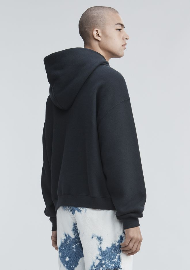 ALEXANDER WANG FLEECE HOODIE TOP Adult 12_n_d