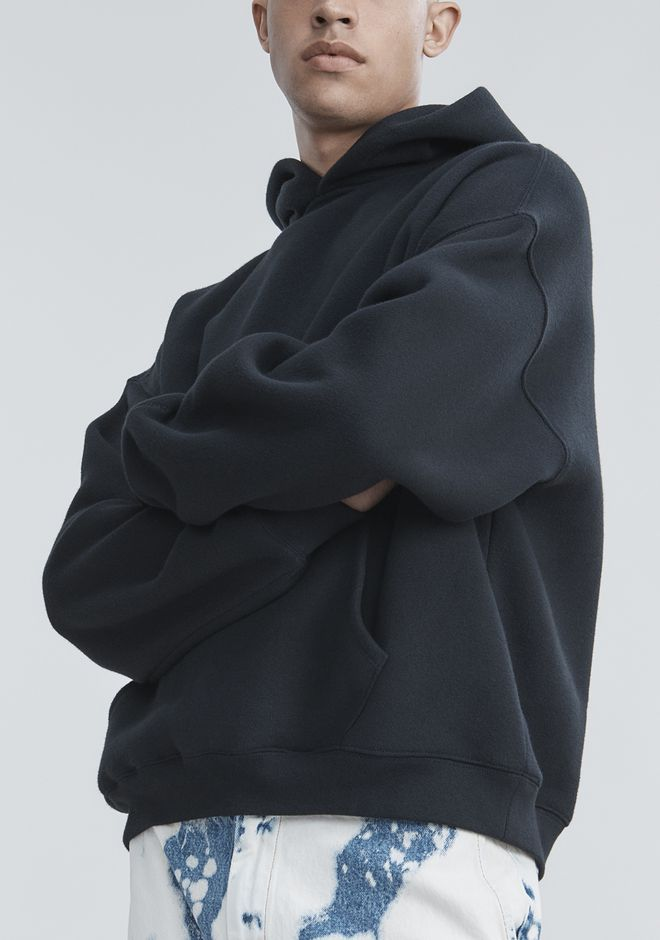 ALEXANDER WANG FLEECE HOODIE TOP Adult 12_n_r