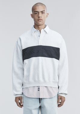 FLEECE POLO SHIRT