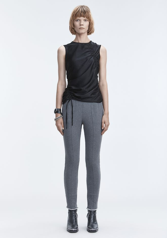 T by ALEXANDER WANG RUCHED TOP  TOPS Adult 12_n_f
