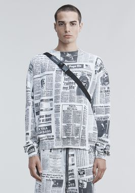 PAGE SIX NEWSPAPER SWEATSHIRT
