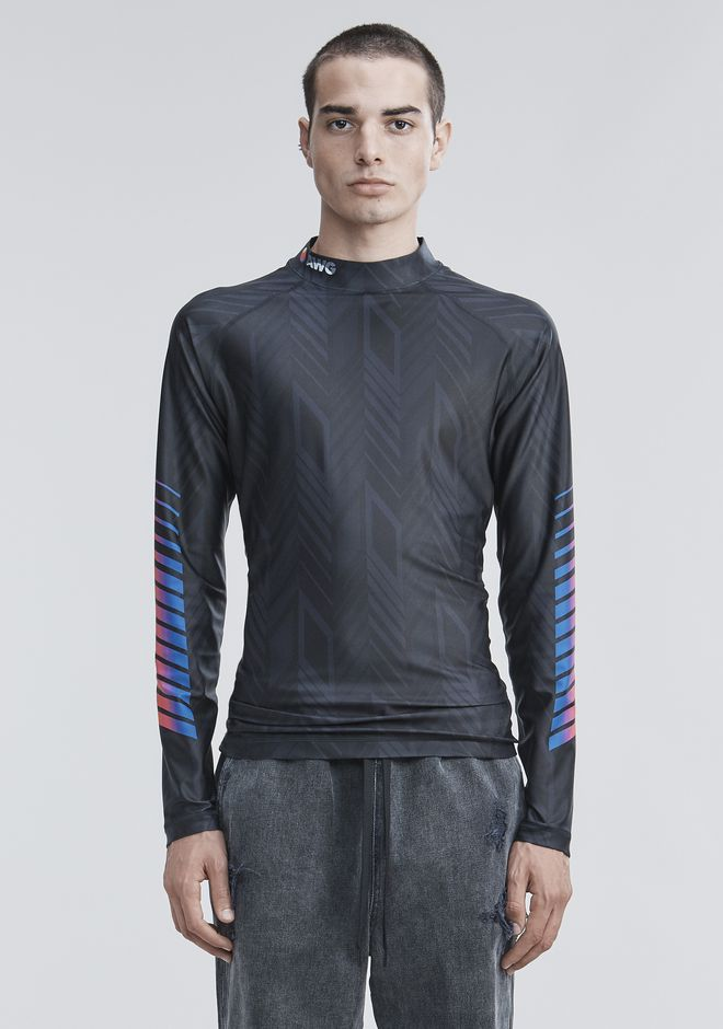 ALEXANDER WANG LONG SLEEVE ATHLETIC GUARD TOP Adult 12_n_a
