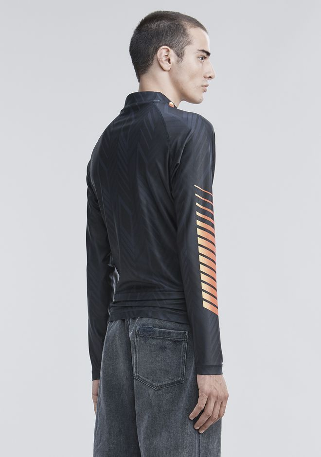 ALEXANDER WANG LONG SLEEVE ATHLETIC GUARD TOP Adult 12_n_d