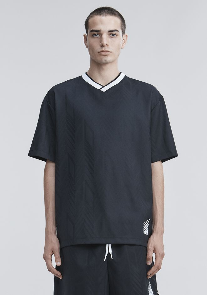 ALEXANDER WANG WOOL SOCCER POLO TOPS Adult 12_n_a