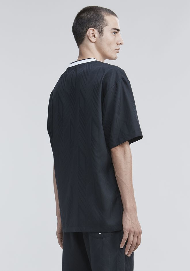 ALEXANDER WANG WOOL SOCCER POLO TOPS Adult 12_n_d