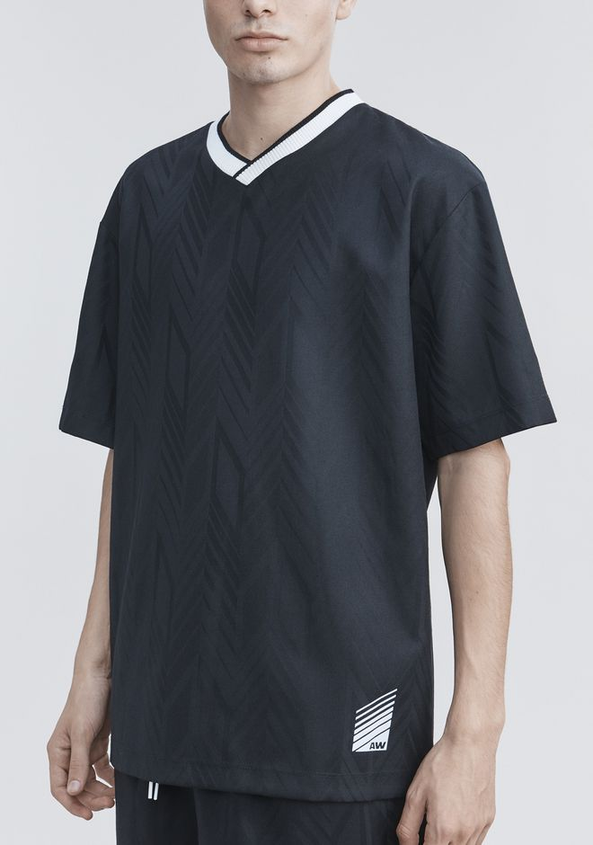 ALEXANDER WANG WOOL SOCCER POLO TOPS Adult 12_n_r