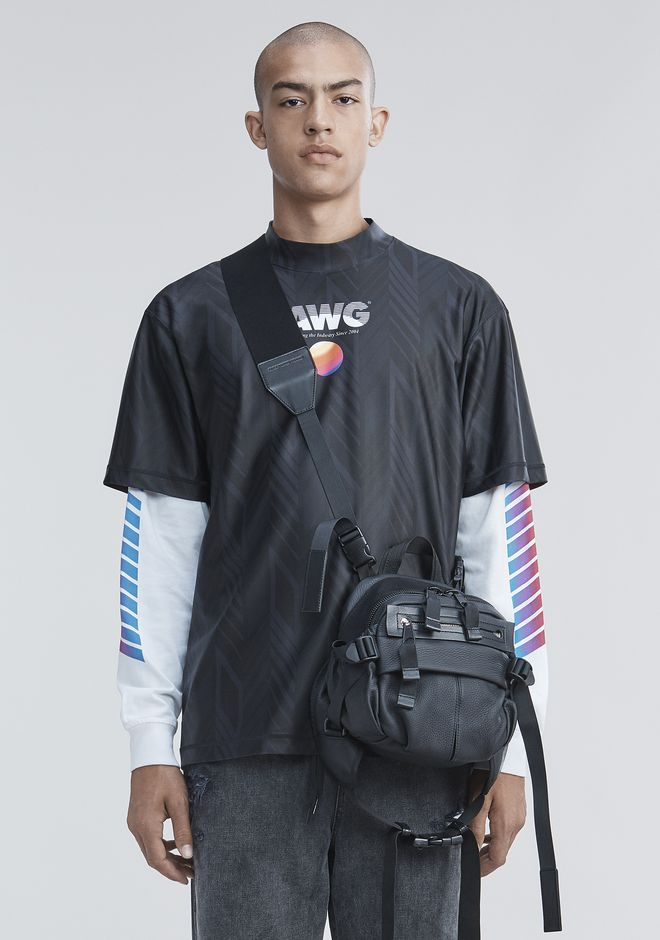 ALEXANDER WANG sltpmn ATHLETIC SHORT SLEEVE TOP