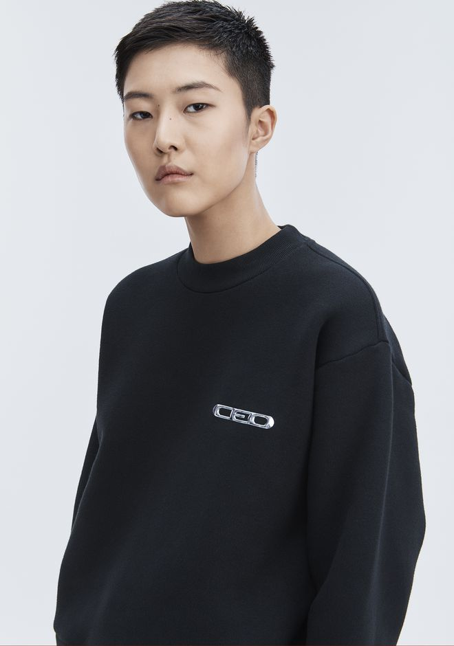 ALEXANDER WANG CEO PULLOVER TOP Adult 12_n_d