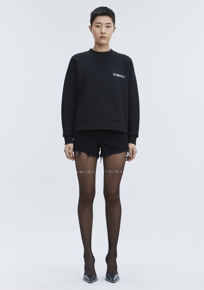 ALEXANDER WANG CEO PULLOVER TOP Adult 12_n_f