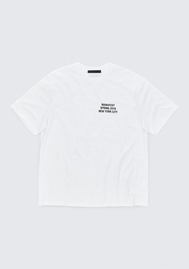 ALEXANDER WANG TOPS Women SPONSORED SHORT SLEEVE TEE
