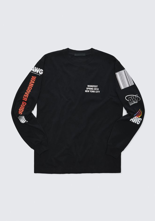 ALEXANDER WANG sponsored SPONSORED LONG SLEEVE TEE
