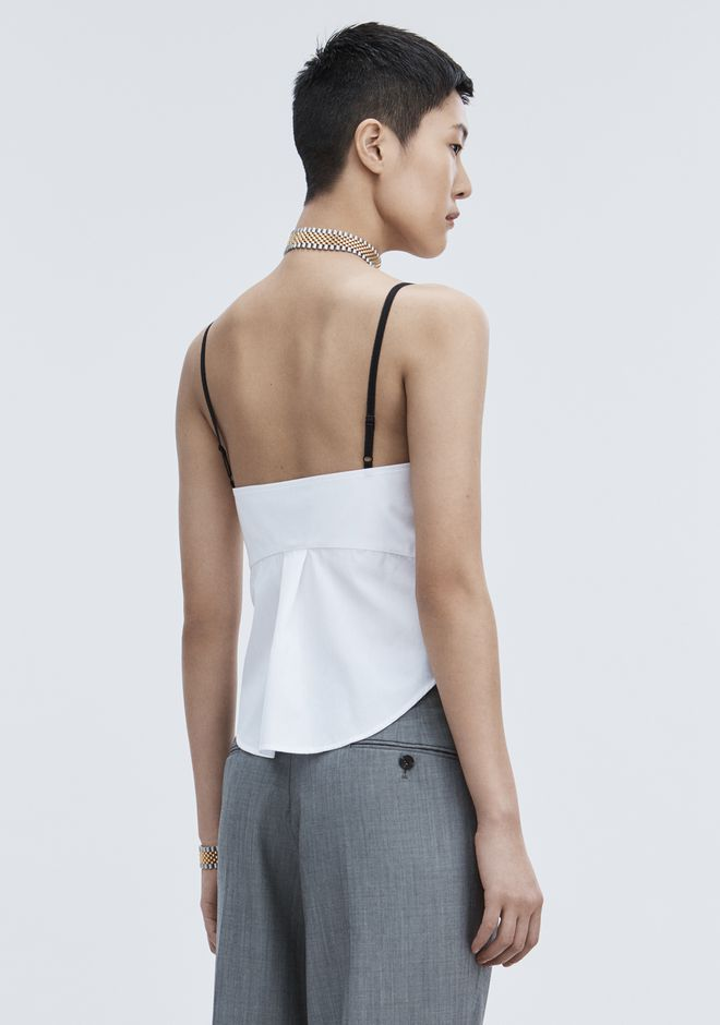 ALEXANDER WANG TWISTED FRONT CAMI TOP TOP Adult 12_n_d