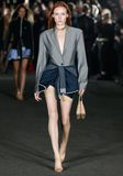 ALEXANDER WANG EXCLUSIVE BLAZER BODYSUIT TOP Adult 8_n_a