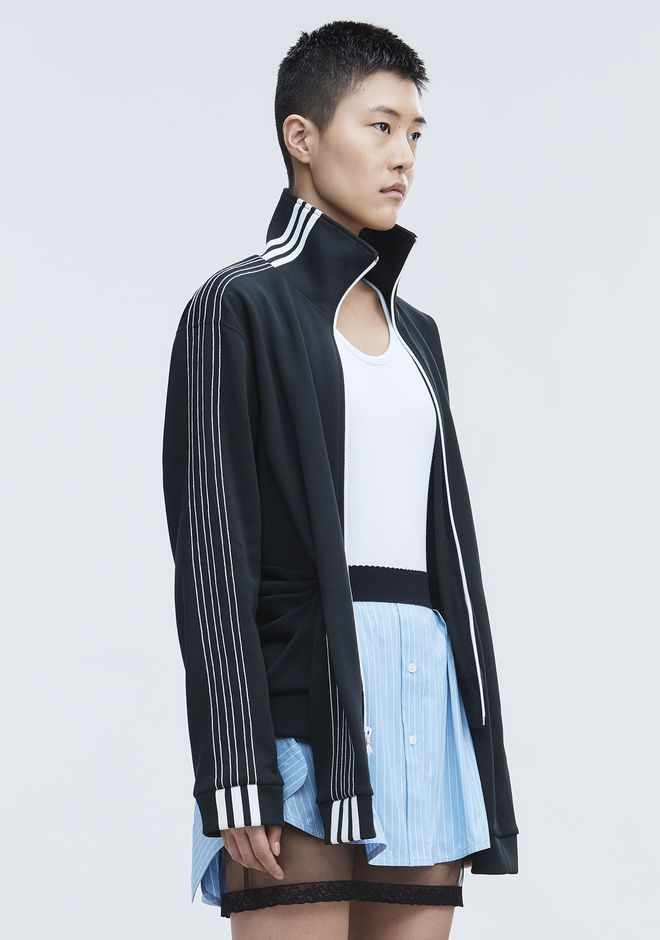 ALEXANDER WANG ADIDAS ORIGINALS BY AW TRACK JACKET TOP Adult 12_n_a