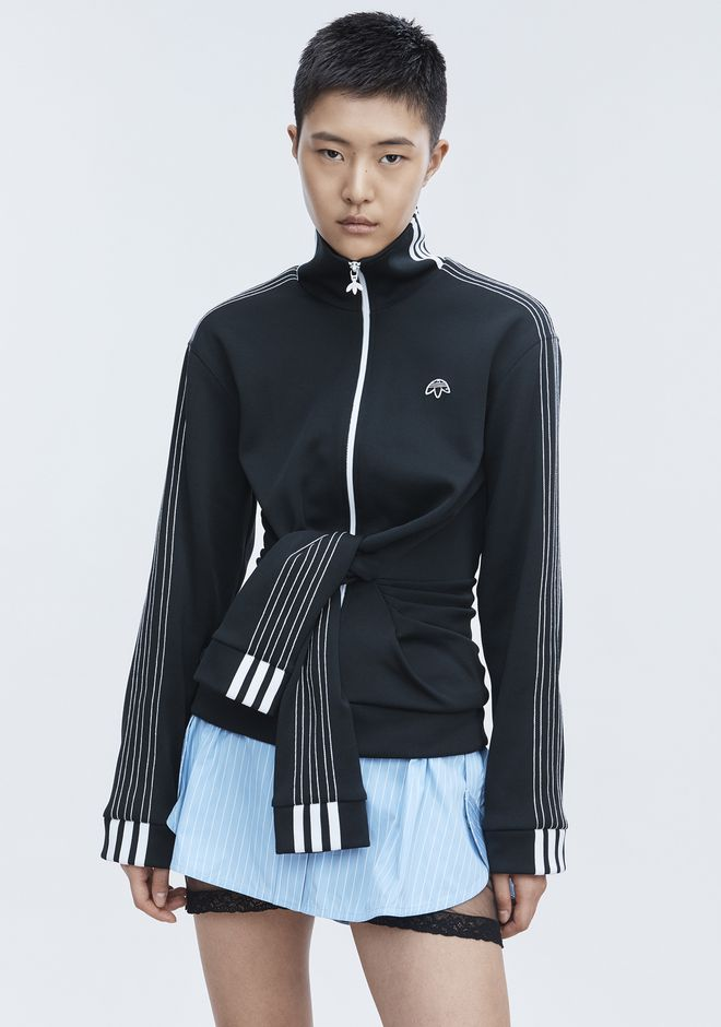 ALEXANDER WANG ADIDAS ORIGINALS BY AW TRACK JACKET TOP Adult 12_n_d