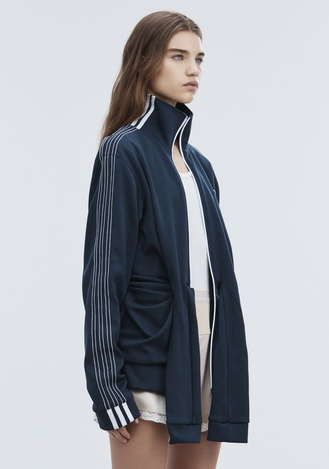 ALEXANDER WANG ADIDAS ORIGINALS BY AW TRACK JACKET 上衣 Adult 12_n_a