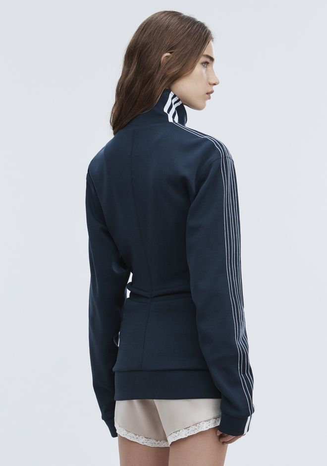 ALEXANDER WANG ADIDAS ORIGINALS BY AW TRACK JACKET TOP Adult 12_n_r