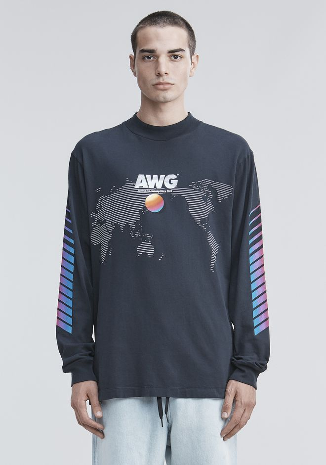 ALEXANDER WANG Long sleeve t-shirts AWG LONG SLEEVE SHIRT