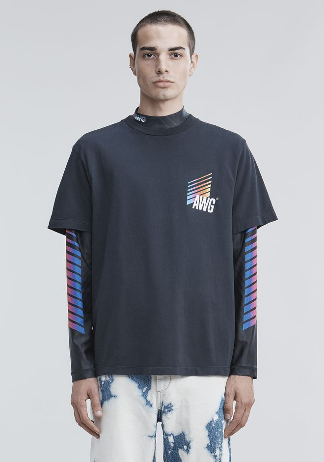 ALEXANDER WANG mens-new-apparel AWG T-SHIRT
