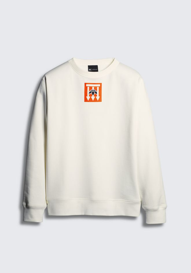 ALEXANDER WANG adidas-originals-3-3 ADIDAS ORIGINALS BY AW GRAPHIC CREWNECK