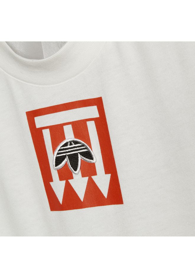 ALEXANDER WANG ADIDAS ORIGINALS BY AW GRAPHIC TEE TOP Adult 12_n_r