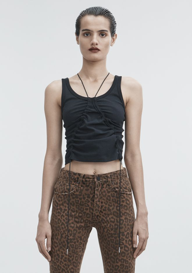 T by ALEXANDER WANG TOPS Women HIGH TWIST TANK