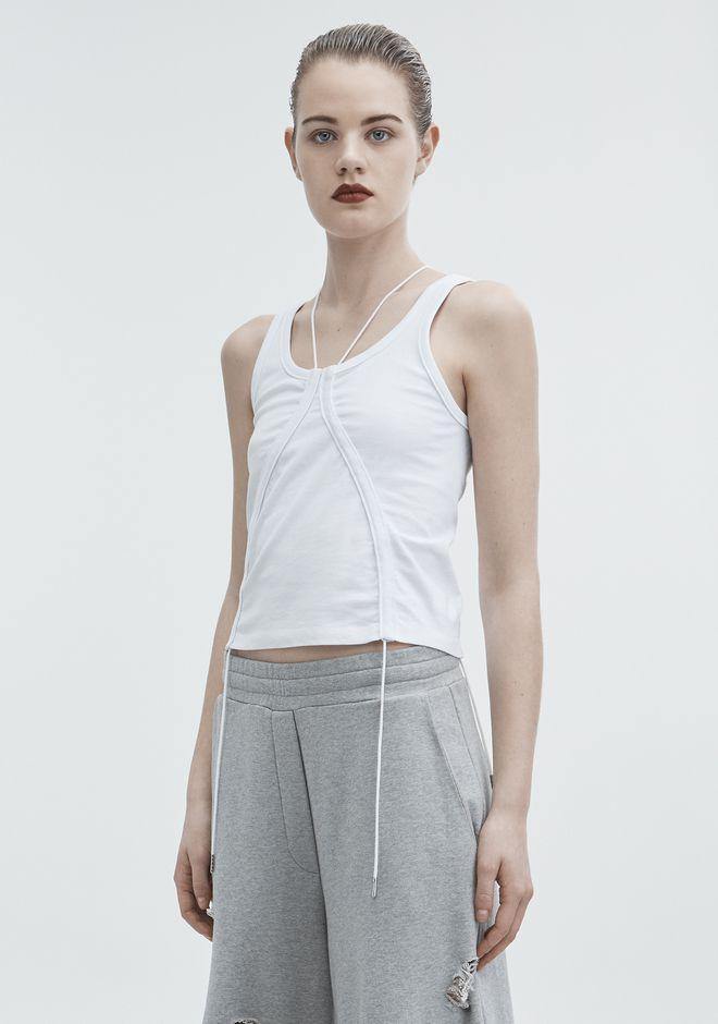 T by ALEXANDER WANG HIGH TWIST TANK