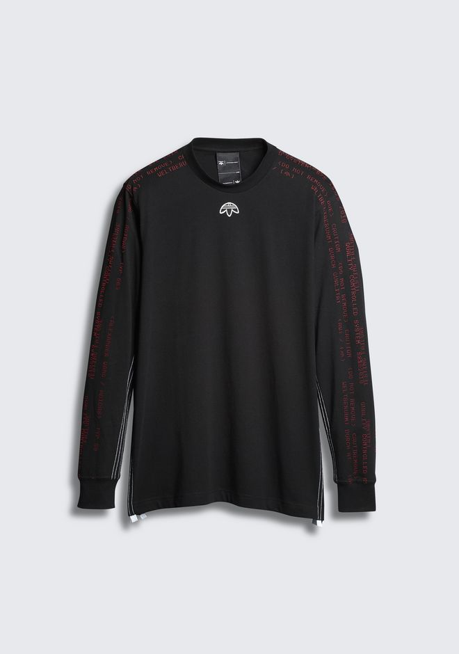 ALEXANDER WANG adidas-originals-3-2 ADIDAS ORIGINALS BY AW LONG SLEEVE TEE