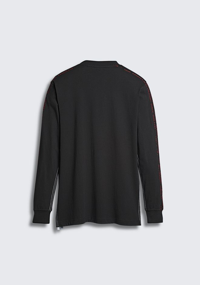 ALEXANDER WANG ADIDAS ORIGINALS BY AW LONG SLEEVE TEE Langärmliges T-Shirt Adult 12_n_d