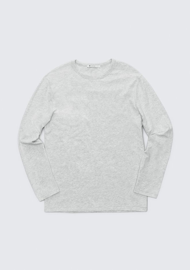 T by ALEXANDER WANG EXCLUSIVE LONG SLEEVE TEE TOP Adult 12_n_a