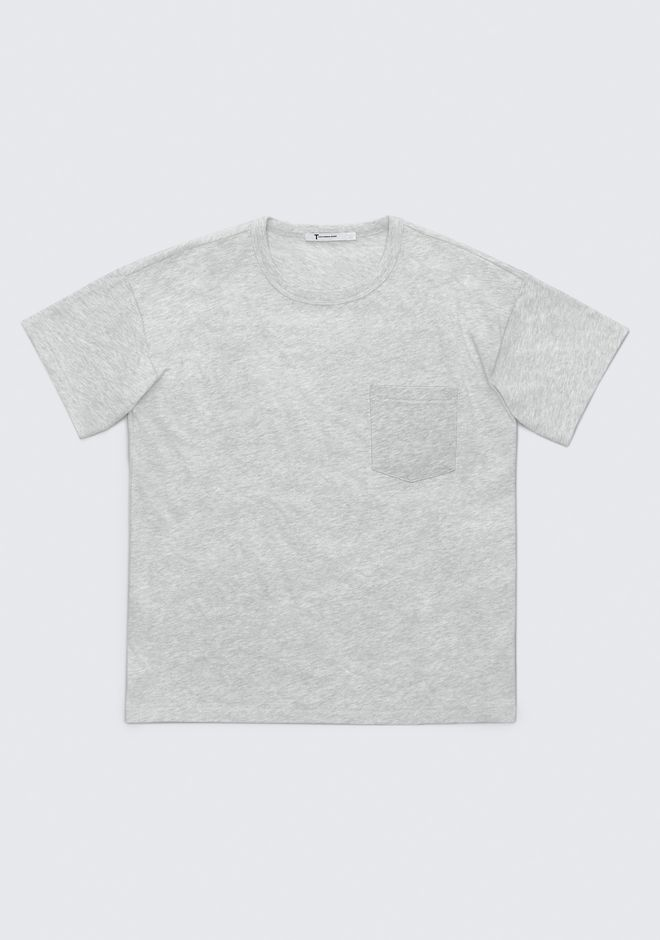 T by ALEXANDER WANG EXCLUSIVE POCKET TEE  TOP Adult 12_n_a